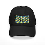 unicornfish tang surgeonfish pattern Baseball Hat