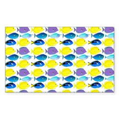 unicornfish tang surgeonfish pattern Decal