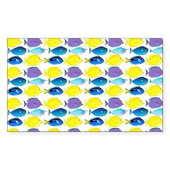 unicornfish tang surgeonfish pattern Decal