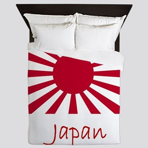 Flag And Name Queen Duvet