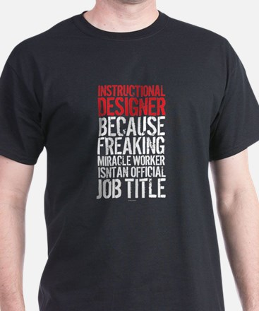 Instructional Designer Job Title T-Shirt