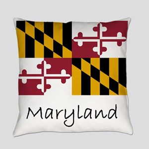 Flag And Name Everyday Pillow