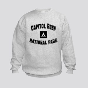 Capitol Reef National Park Kids Sweatshirt