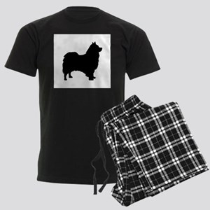 icelandic sheepdog silhouette Pajamas