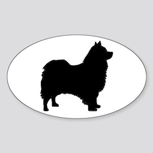 icelandic sheepdog silhouette Sticker