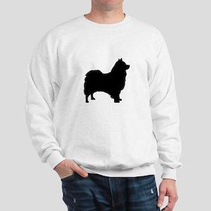 icelandic sheepdog silhouette Sweatshirt