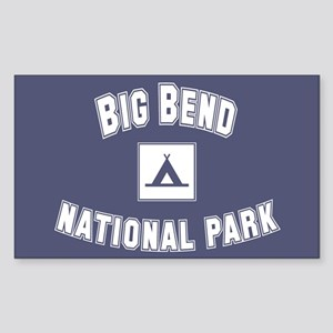 Big Bend National Park Rectangle Sticker