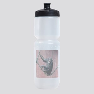 Chimpanzee001 Sports Bottle
