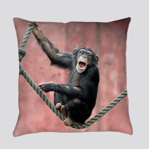 Chimpanzee001 Everyday Pillow