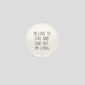 I'm Lying Mini Button