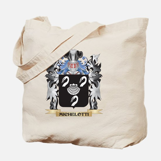 Michelotti Coat of Arms - Family Crest Tote Bag