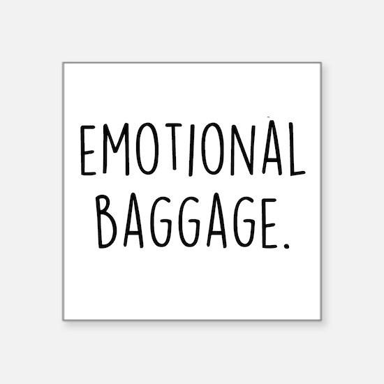 Emotional Baggage Sticker