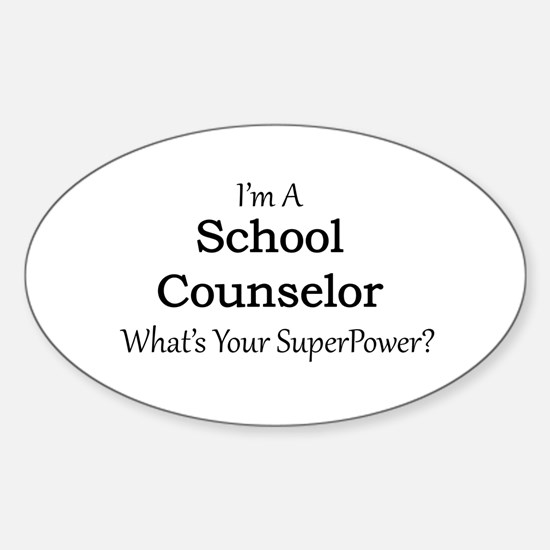 School Counselor Decal