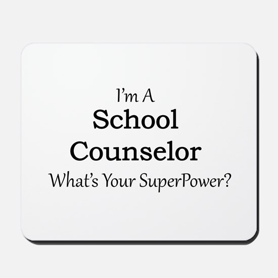 School Counselor Mousepad