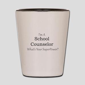 School Counselor Shot Glass