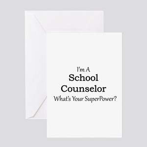 School Counselor Greeting Cards