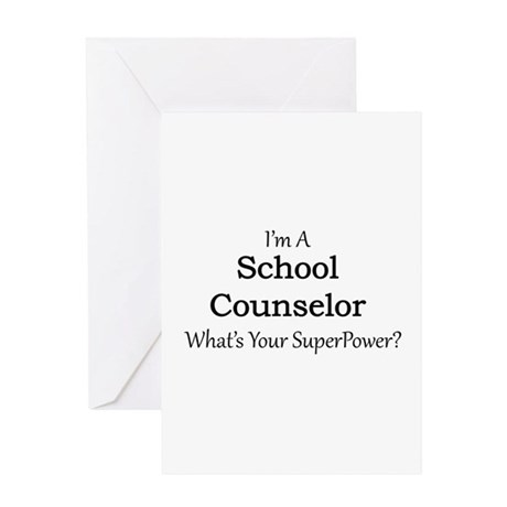 School Counselor Greeting Cards by Admin_CP13428990