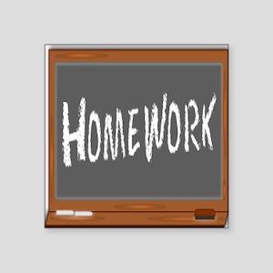 Homework Sticker
