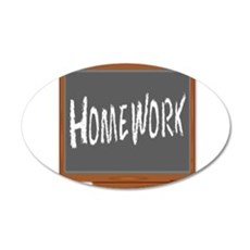 Homework Wall Decal