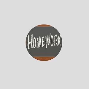 Homework Mini Button