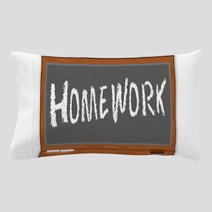 Homework Pillow Case