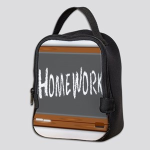 Homework Neoprene Lunch Bag