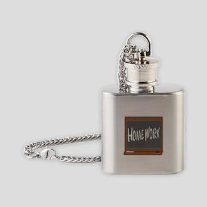 Homework Flask Necklace