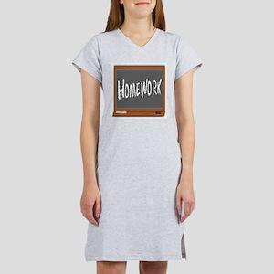 Homework Women's Nightshirt