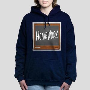 Homework Women's Hooded Sweatshirt
