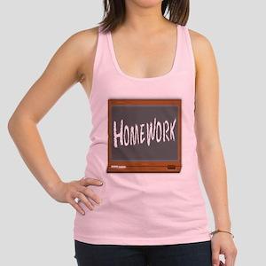 Homework Racerback Tank Top