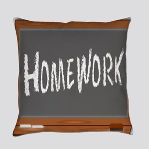 Homework Everyday Pillow