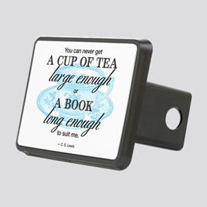 Tea Quote Rectangular Hitch Cover