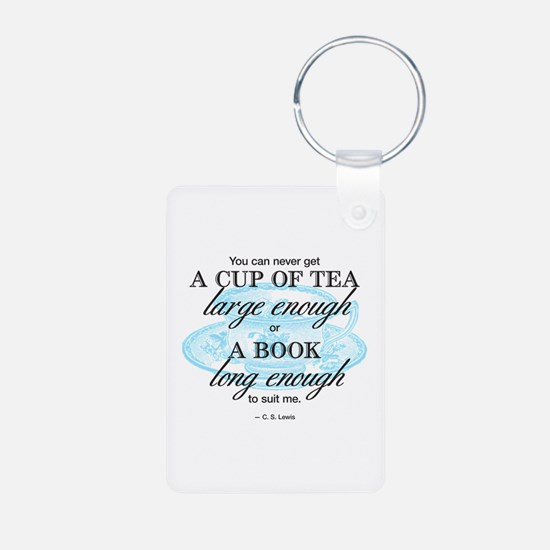 Tea Quote Keychains
