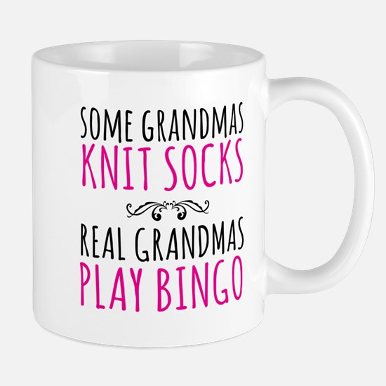 Real Grandmas Play Bingo Mugs