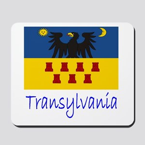 Flag And Name Mousepad