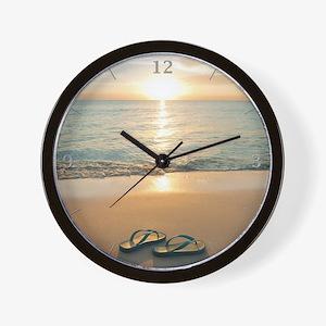 Beach Clock Wall Clock