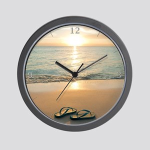 Beach Clock Wall Clock
