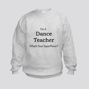 Dance Teacher Kids Sweatshirt