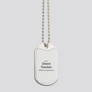 Dance Teacher Dog Tags