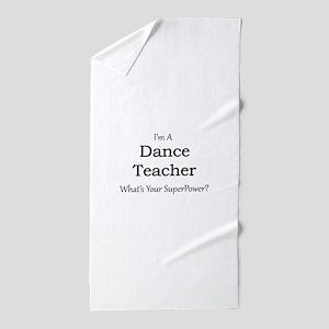 Dance Teacher Beach Towel