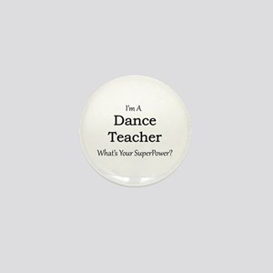 Dance Teacher Mini Button