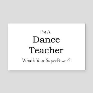 Dance Teacher Rectangle Car Magnet