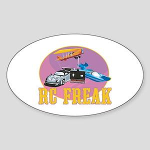 RC Freak Sticker (Oval)
