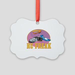 RC Freak Picture Ornament