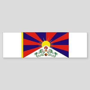 Tibetan Free Tibet Flag - Peu Rangz Bumper Sticker