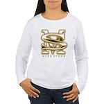women's mike stone log Women's Long Sleeve T-Shirt