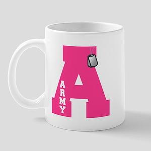 A - Army Mug