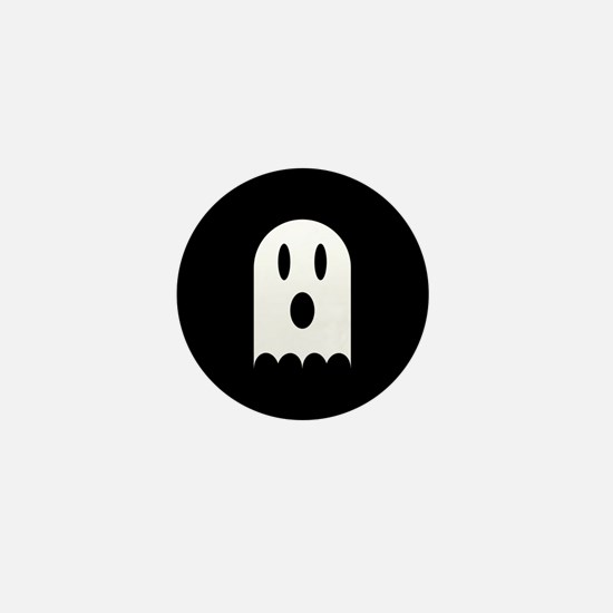 Cute Scary Halloween Ghost Mini Button