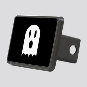 Cute Scary Halloween Ghost Rectangular Hitch Cover