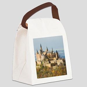 HILLTOP CASTLE Canvas Lunch Bag